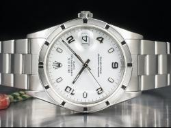 Rolex Date 34 White/Bianco 15210