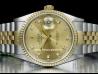 Rolex|Datejust 36 Jubilee Champagne Diamonds|16233