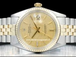 Rolex Datejust 36 Jubilee Bark Champagne/Champagne Corteccia 1601