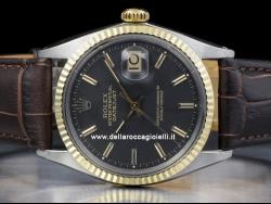 Rolex Datejust 36mm Nero/Black/Noir 1601