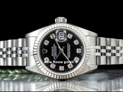 Rolex Datejust 26 Lady Diamonds Black/Nero 79174