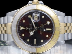 Rolex Gmt Master Tiger Eye Root Beer Nipple Dial 16753