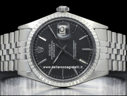 Rolex Datejust 36 Black/Nero 1603