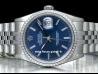 Rolex Datejust 36 Jubilee Blue/Blu 16220