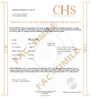 CHS SWISS - CERTIFICATE OF REGISTRATION